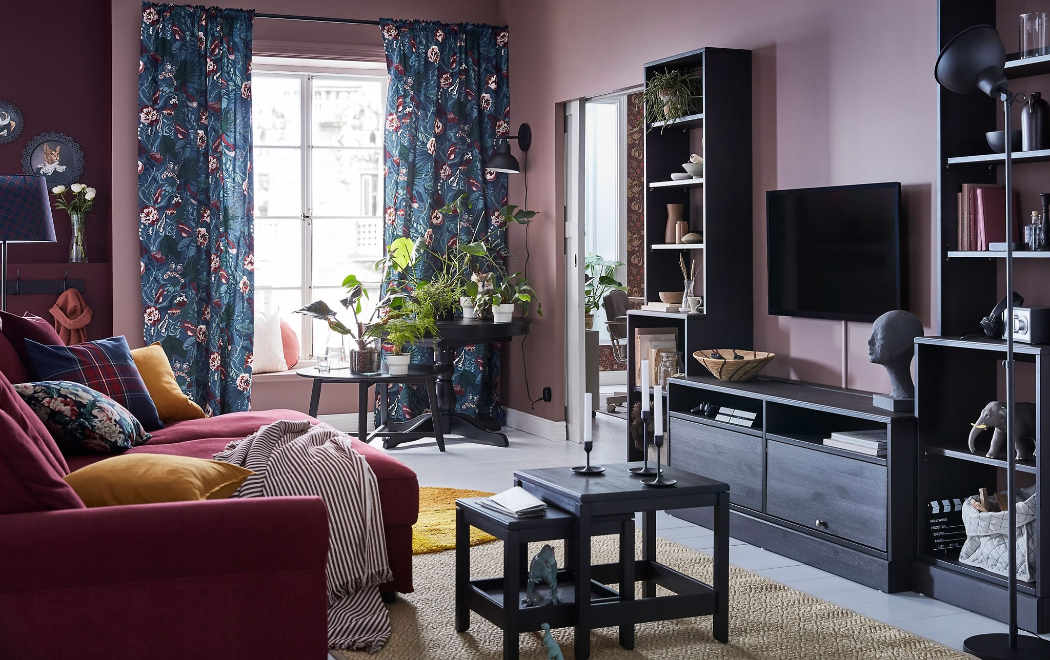 Living Room Furniture Ideas Ikea with regard to 10 Clever Initiatives of How to Craft Living Room Sets With Tv