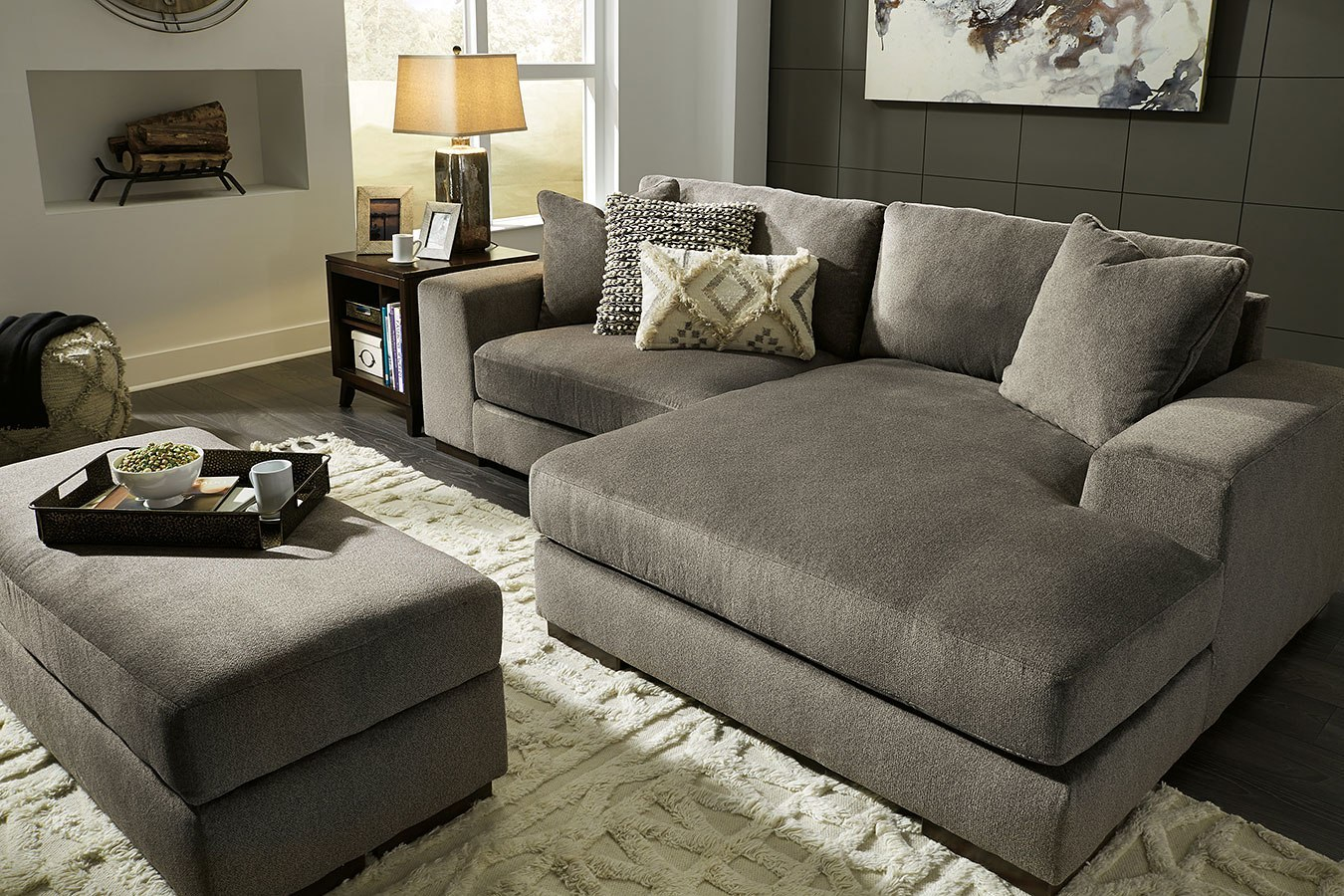Manzani Graphite Sectional Living Room Set Signature Design pertaining to 13 Some of the Coolest Initiatives of How to Build Living Room Sets