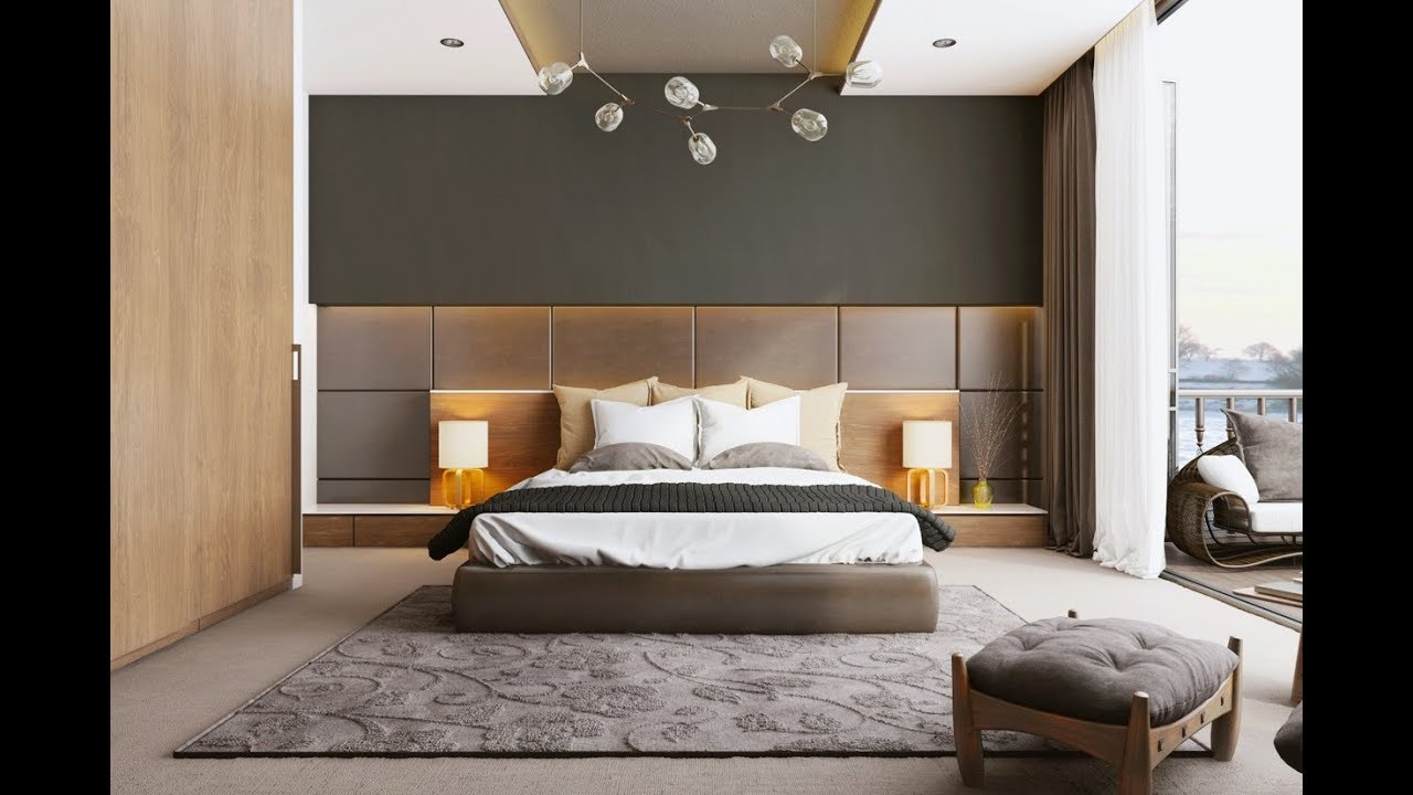 Modern Bedroom Design Ideas 2018 How To Decorate A Bedroom Inerior regarding Ideas For Modern Bedrooms