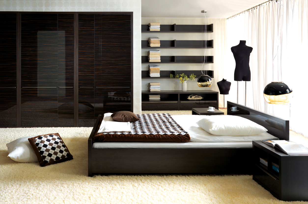 Modern Bedroom Furniture Creative Black Design Hupehome Catpillowco in 10 Clever Ways How to Improve Black Modern Bedroom Set