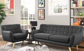Modern Contemporary Living Room Furniture Allmodern within Modern Living Room Table Sets