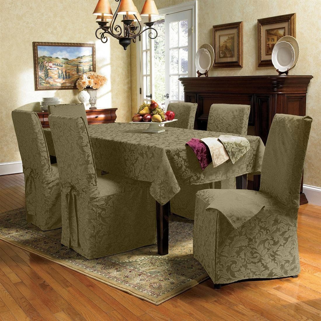 Modern Dining Room Chair Seat Covers Home Decor Furniture with Living Room Set Covers