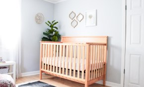 Modern Girl Nursery Classically Sweet Shared Toddler Ba Room in Modern Baby Bedroom