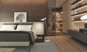 Modern Italian Bedroom Set Includes Bed And Two Night Tables Wood pertaining to Modern Italian Bedroom
