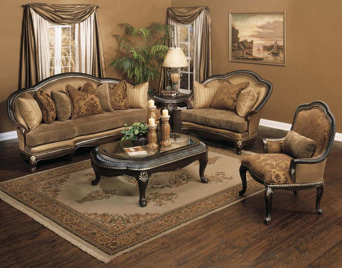Most Traditional Sofas Are Oversized And Have Large Wood Frames With with regard to 11 Clever Tricks of How to Improve Oversized Living Room Sets