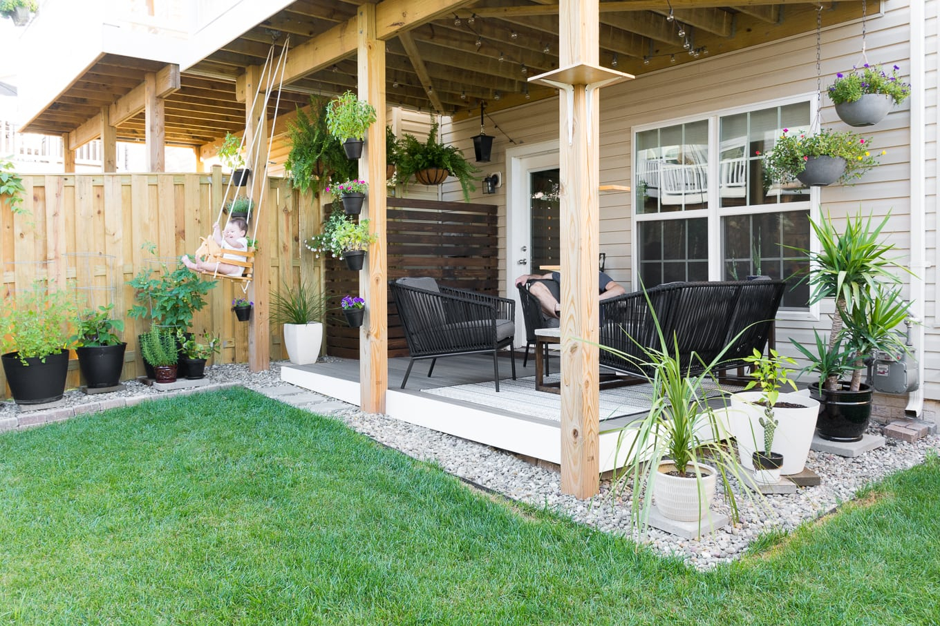 My Tiny Backyard Garden Update Small Backyard Design Ideas with regard to 15 Awesome Concepts of How to Make Design Ideas For Small Backyards