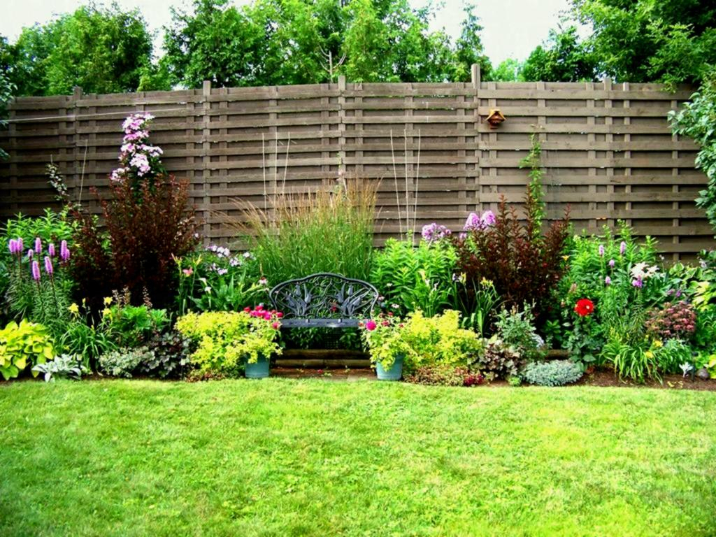 Natural Fence Landscaping Ideas Fence Ideas Site inside Backyard Fence Landscaping Ideas