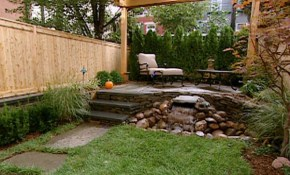 New Landscaping Ideas For Small Yards Outdoor Design York House pertaining to Small Backyard Ideas