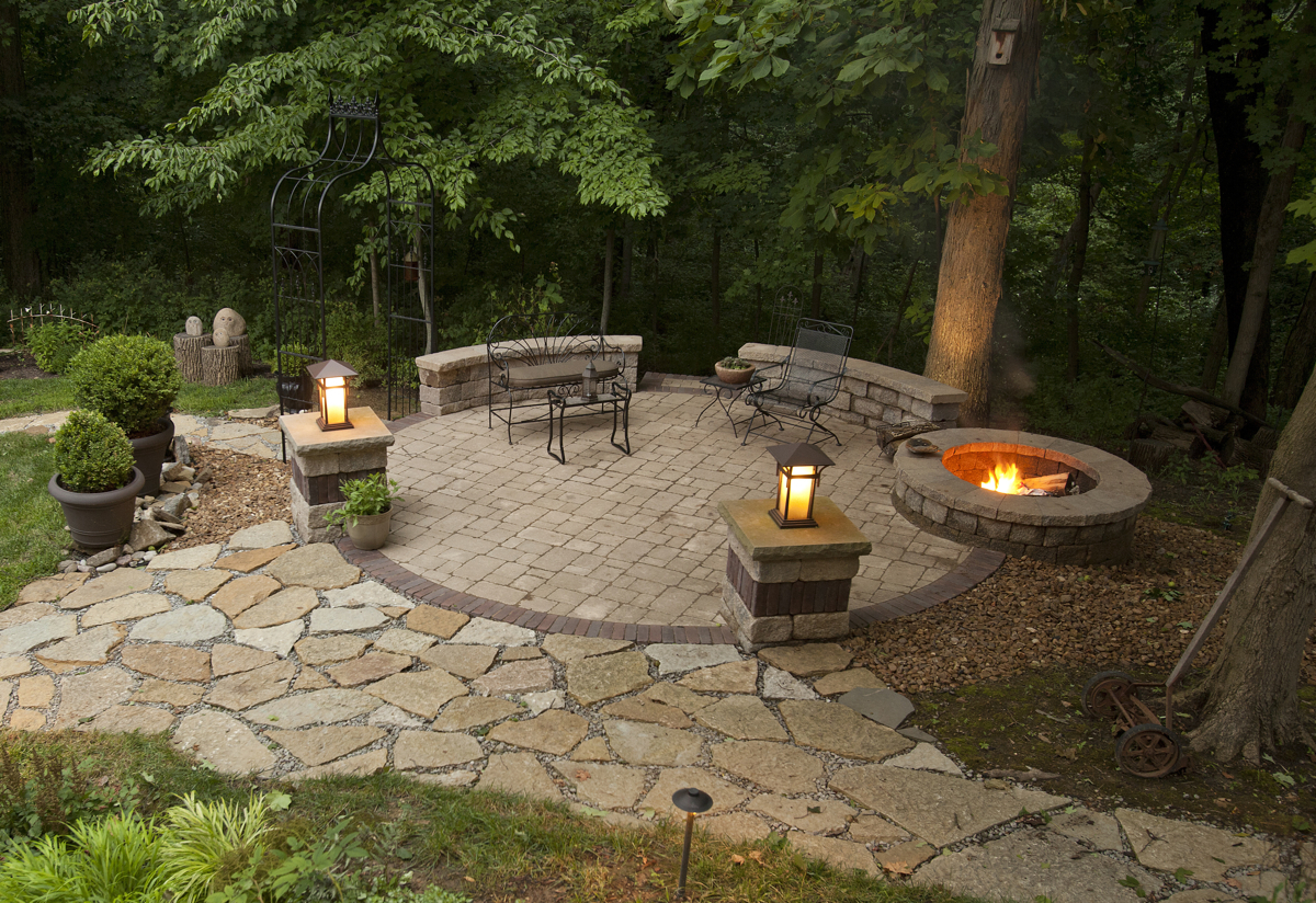 Outdoor Patio Ideas With Fire Pit Design The Latest Home Decor Ideas throughout Ideas For Fire Pits In Backyard