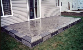 Patio Slab Design Ideas Paving Slabs North Wales Nw Contractors pertaining to 12 Smart Ways How to Upgrade Backyard Cement Patio Ideas