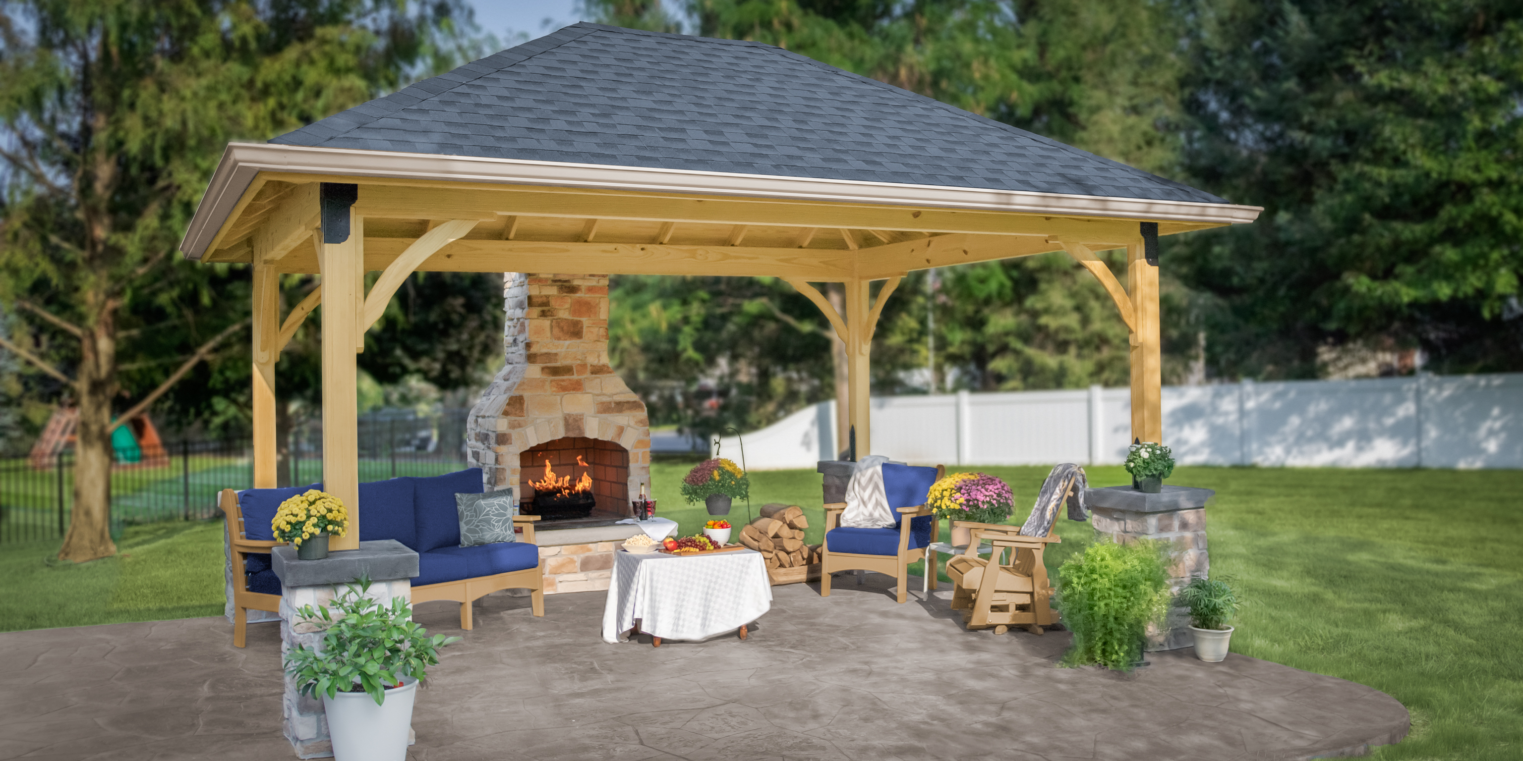Pavilion Backyard Ideas For Your Outdoor Living Space for Pavilion Ideas Backyard