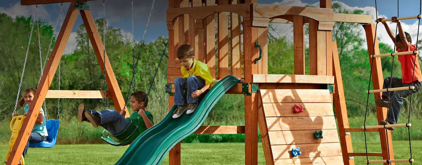 Playground Sets Equipment The Home Depot with regard to Cheap Backyard Playground Ideas