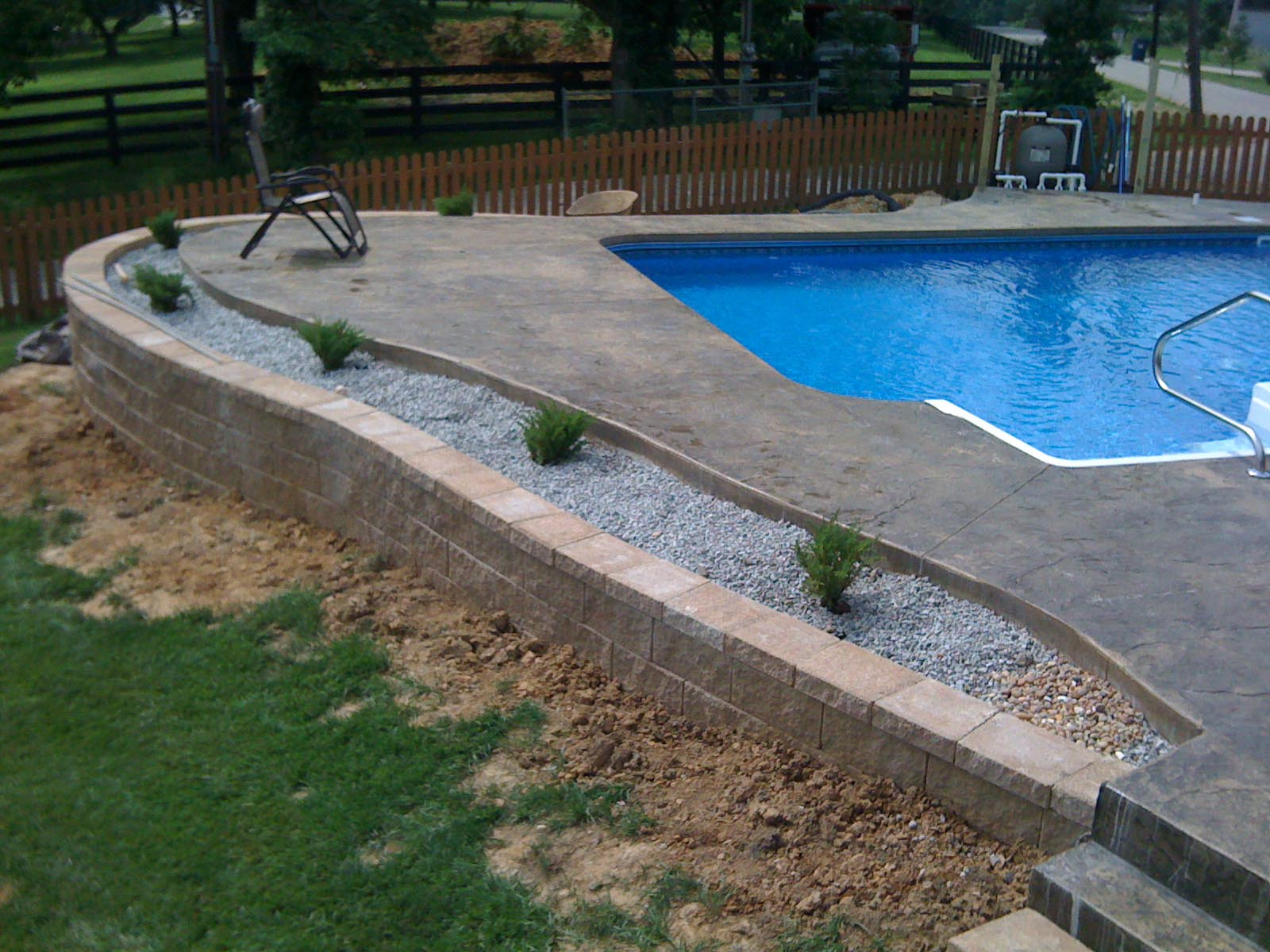 Pool Deck Ideas For Inground Pools Decks Ideas with 10 Awesome Tricks of How to Improve Backyard Pool Deck Ideas