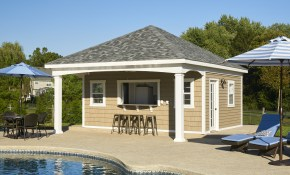 Pool Houses For Sale Pa Nj Ny Free Quote Homestead Structures inside 13 Clever Designs of How to Make Backyard Pool House Ideas
