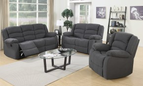 Red Barrel Studio Mayflower Reclining 3 Piece Living Room Set for Chair Set Living Room