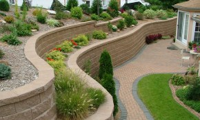 Retaining Wall Ideas Agape Retaining Walls Inc Built These pertaining to Backyard Wall Ideas
