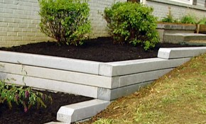 Retaining Wall Ideas For Backyard Home Design with Retaining Wall Ideas For Backyard
