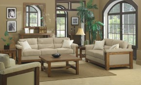 Rustic Living Room Furniture Laredoreads pertaining to 15 Clever Concepts of How to Craft Rustic Living Room Set
