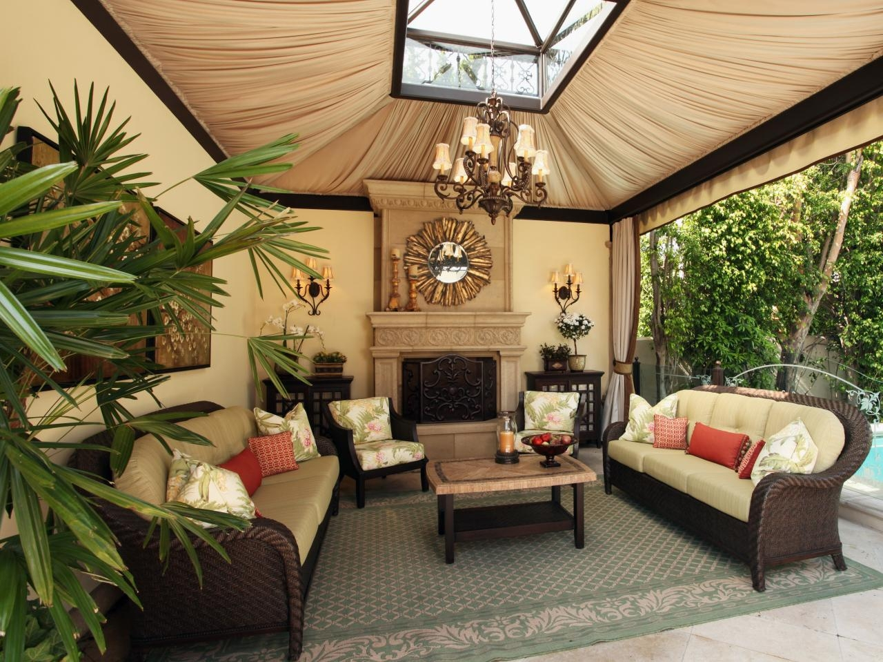 Seasonal Outdoor Living Furniture Decoration Sets Safe Home with Outdoor Living Room Sets