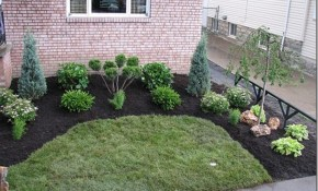Simple Backyard Landscape Design Best Cheap Landscaping Ideas Back regarding Simple Backyard Landscape Design