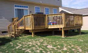 Simple Deck Ideas Air Home Products Best Outside Deck Ideas And intended for Simple Backyard Deck Ideas