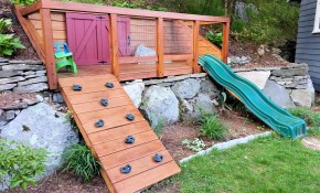 Simple Sloped Backyard Ideas Just Simple Site throughout Sloped Backyard Ideas