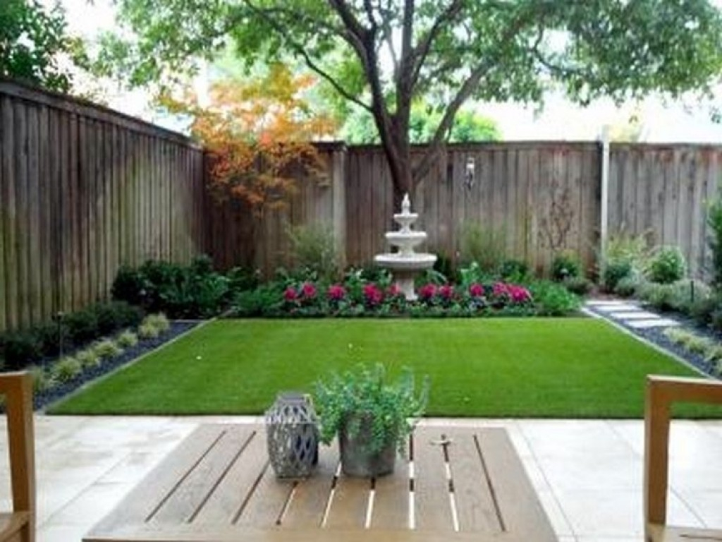 Simple Small Backyard Landscaping Ideas Turismoestrategicoco inside 11 Clever Initiatives of How to Improve Small Backyard Landscaping Ideas Pictures