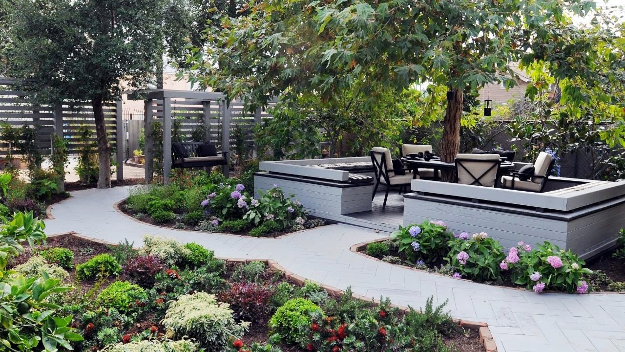Small Backyard Landscaping Ideas Backyard Garden Ideas Youtube for Landscape For Small Backyard