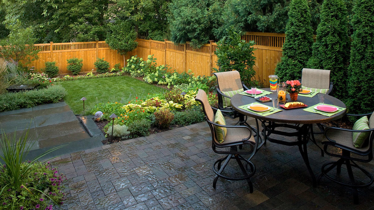 Small Backyard Landscaping In Minneapolis Southview Design intended for 15 Some of the Coolest Concepts of How to Improve Backyard Landscapers