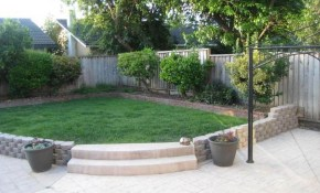 Small Front Yard Landscaping Ideas Low Maintenance Simple Backyard throughout Simple Backyard Landscape Ideas