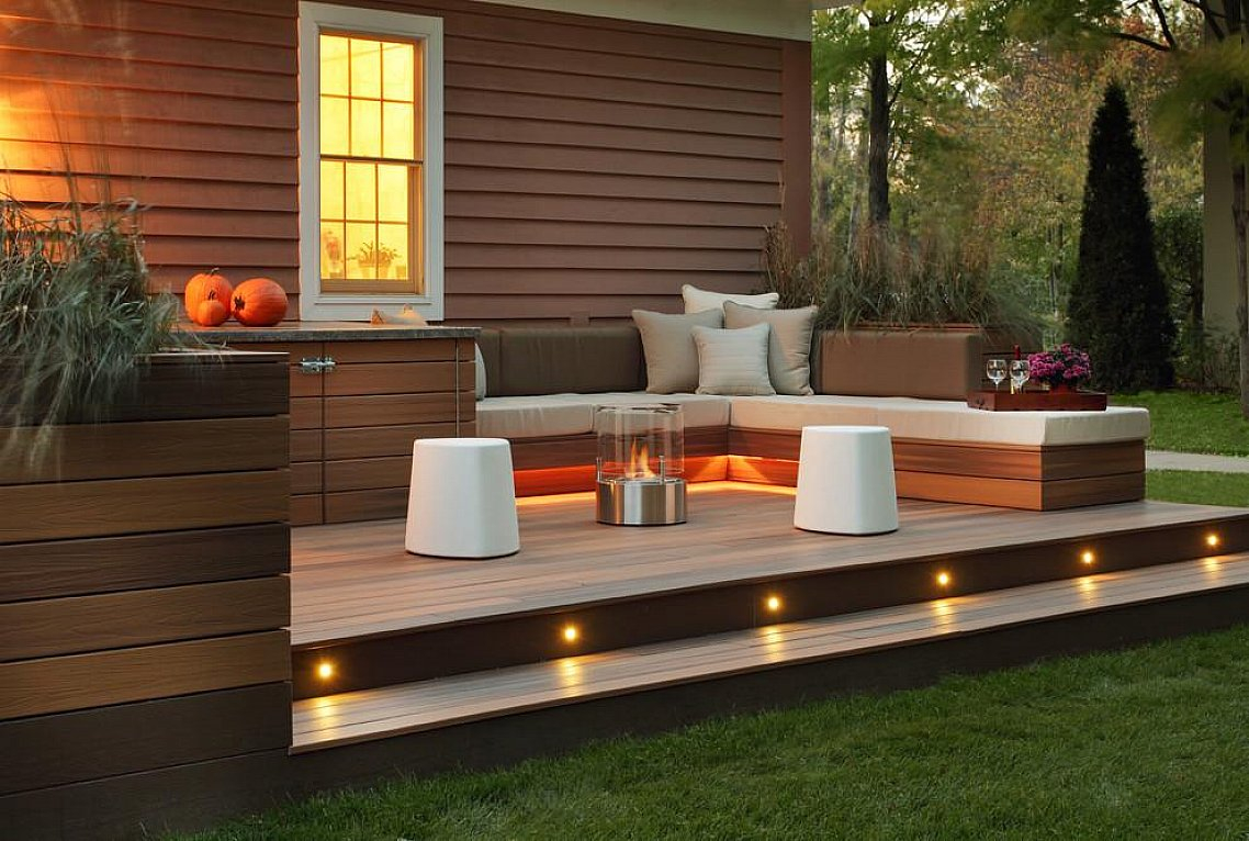 Small Outdoor Deck Ideas The New Way Home Decor Natural Outdoor for 10 Some of the Coolest Ways How to Craft Small Deck Ideas For Small Backyards