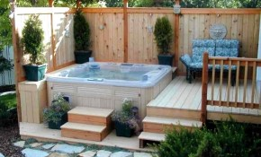 Small Patio Deck Ideas Composite Decking Backyard Under Furniture pertaining to Backyard Decking Ideas