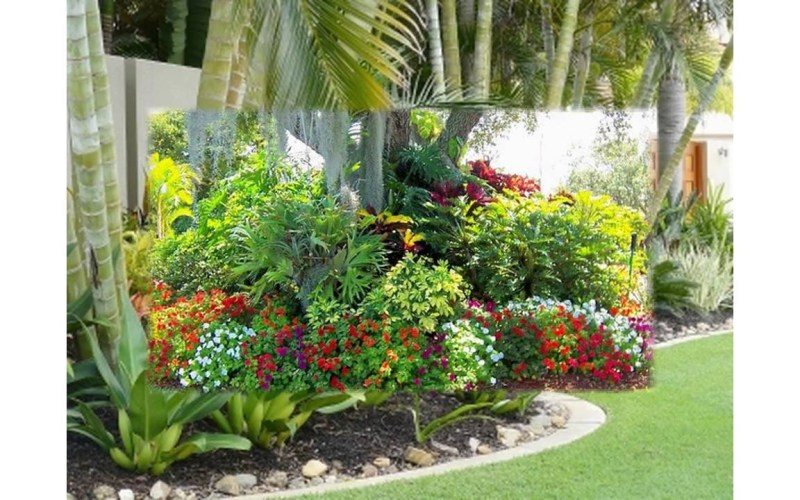 Small Tropical Garden Ideas Youtube regarding 10 Awesome Ideas How to Craft Small Tropical Backyard Ideas