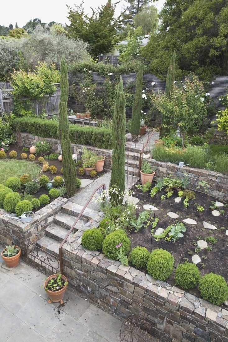 Steep Hill Backyard Landscaping Ideas First Landscape Renovation for Landscape Ideas For Hilly Backyards