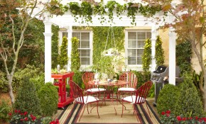 Stylish Outdoor Decorating Ideas Home Improvement The Apron Master pertaining to 13 Smart Initiatives of How to Make Backyard Wall Decorating Ideas