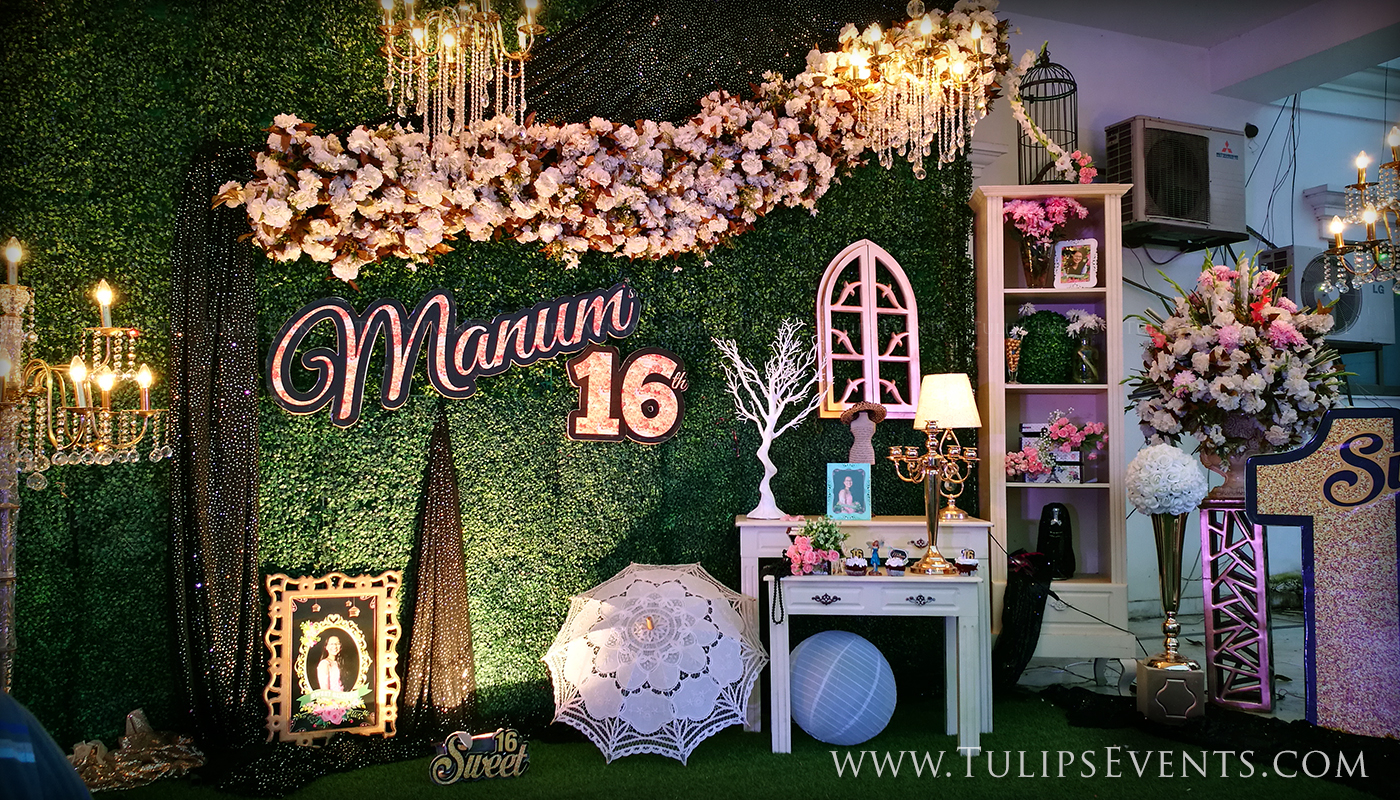 Sweet 16 Outdoor Theme Party Tulips Event Management for 13 Smart Ideas How to Makeover Backyard Birthday Party Ideas Sweet 16