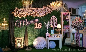 Sweet 16 Outdoor Theme Party Tulips Event Management in Sweet Sixteen Backyard Party Ideas
