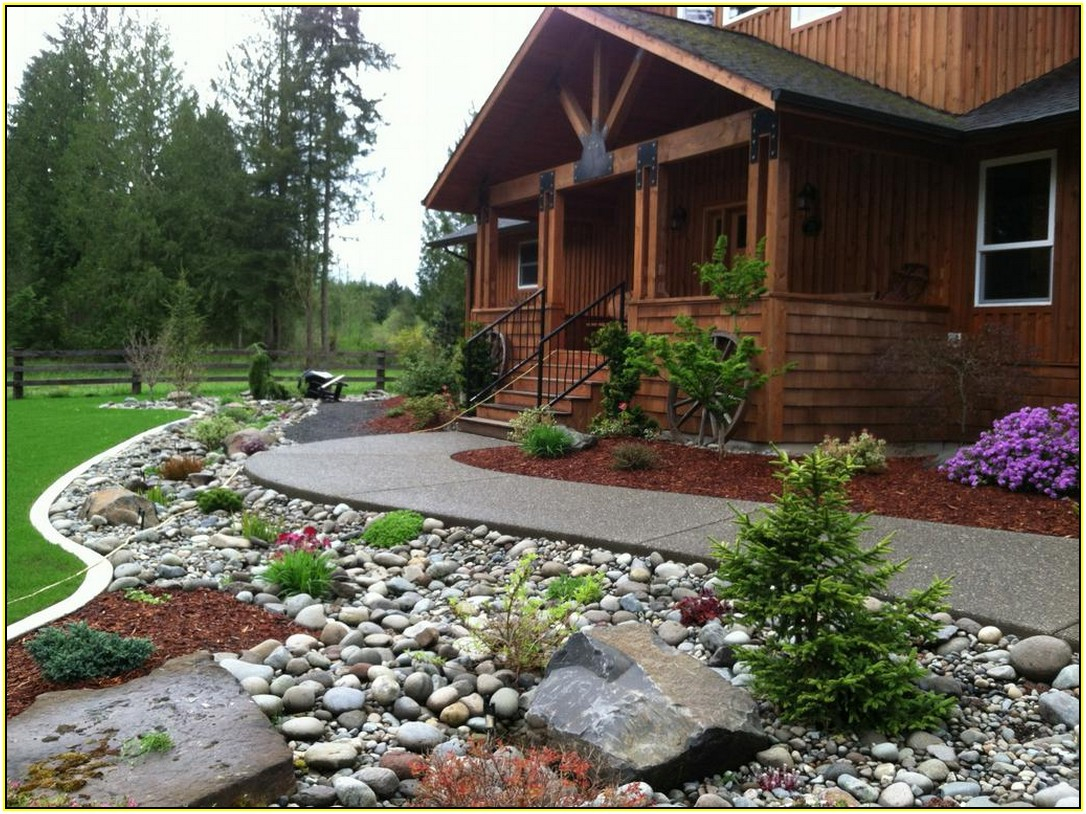 Sweet Front Yard Landscaping Ideas With Rocks Veterans Against The inside 13 Smart Concepts of How to Craft Backyard Landscaping Ideas With Stones