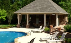 Swimming Pools Backyard Resorts Backyard Living Nashville intended for Backyard Pool House Ideas