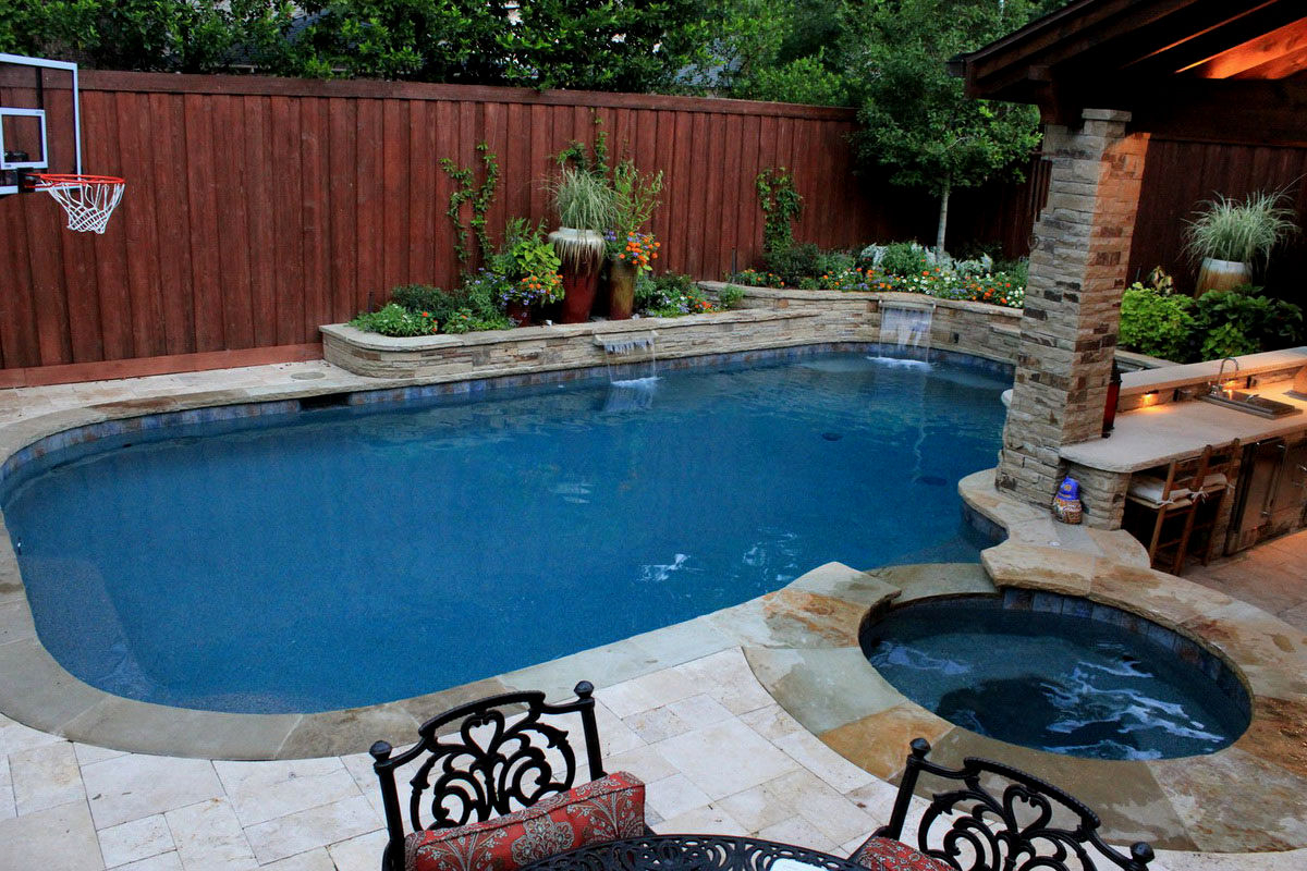 Tagged Small Backyard With Pool Landscaping Ideas Trends with 14 Some of the Coolest Tricks of How to Upgrade Small Backyard With Pool Landscaping Ideas