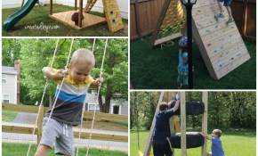 The Best Backyard Diy Projects For Your Outdoor Play Space Frugal regarding 11 Some of the Coolest Concepts of How to Upgrade Diy Backyard Playground Ideas