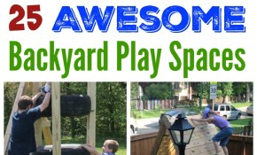 The Best Backyard Diy Projects For Your Outdoor Play Space Frugal within 11 Some of the Coolest Concepts of How to Upgrade Diy Backyard Playground Ideas