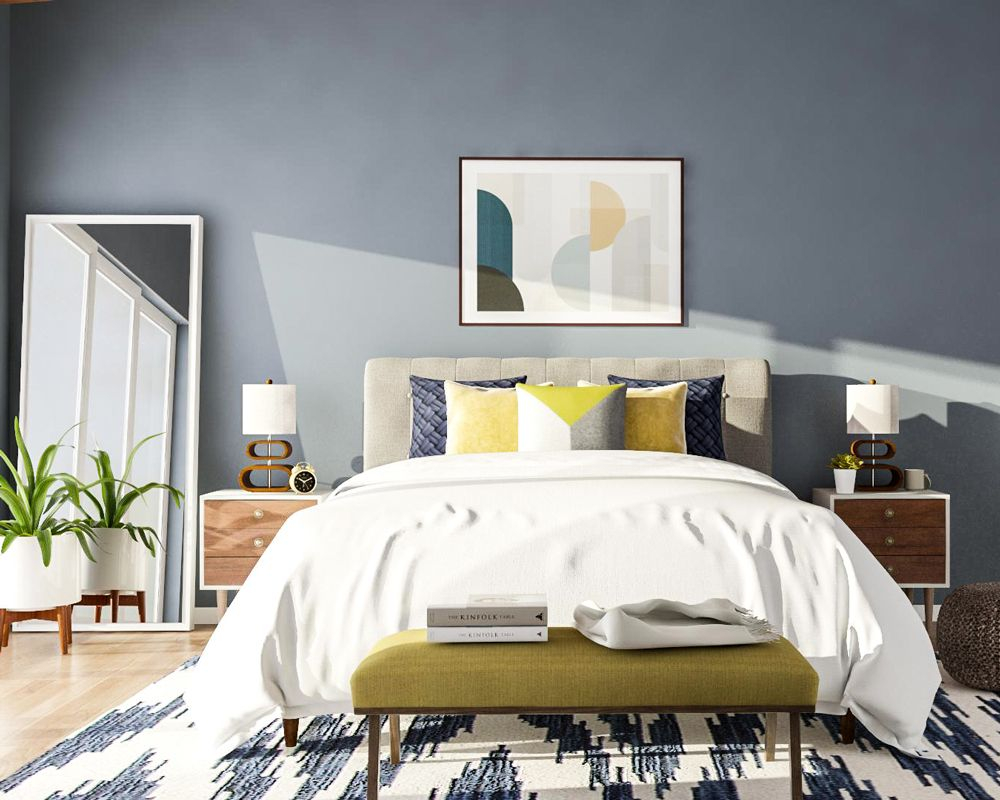 The State Of The Home 2018 Modsy Home Design Trends Report Mid intended for 10 Clever Ideas How to Improve Midcentury Modern Bedroom