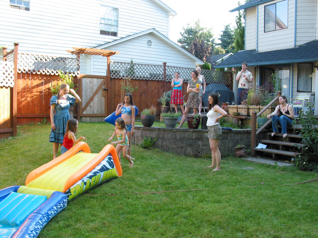Throwing A Backyard Birthday Party For Your Child Preemie Twins with regard to Fun Backyard Party Ideas