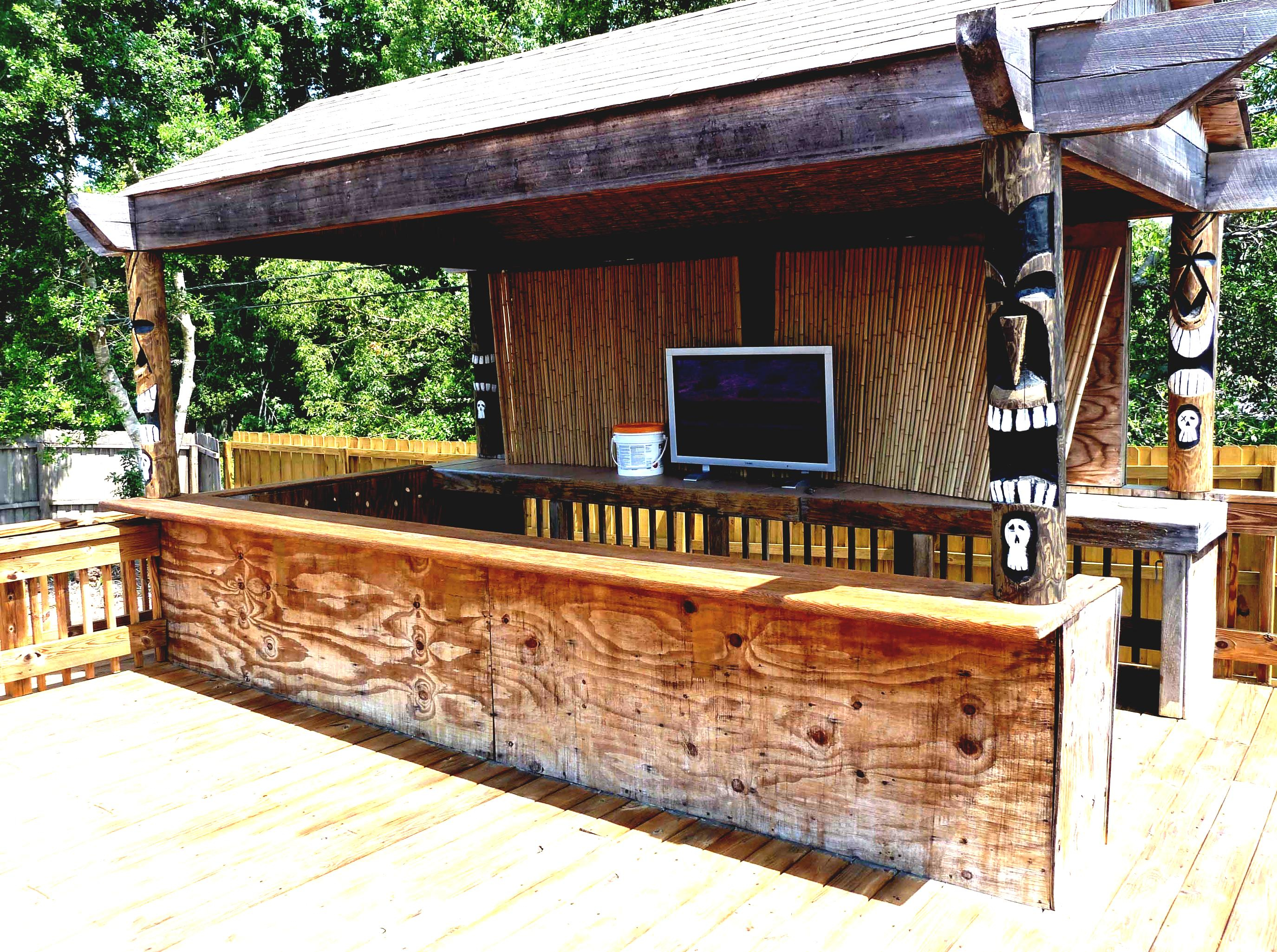 Tiki Hut Design Ideas Myinterior Myinterior within Backyard Tiki Bar Ideas