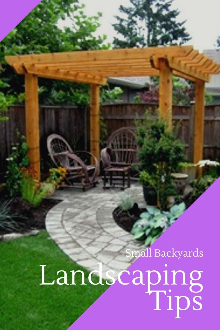 Tiny Backyard Landscape Tips You Will Love Landscaping Ideas For in 13 Genius Ways How to Make Pinterest Backyard Ideas