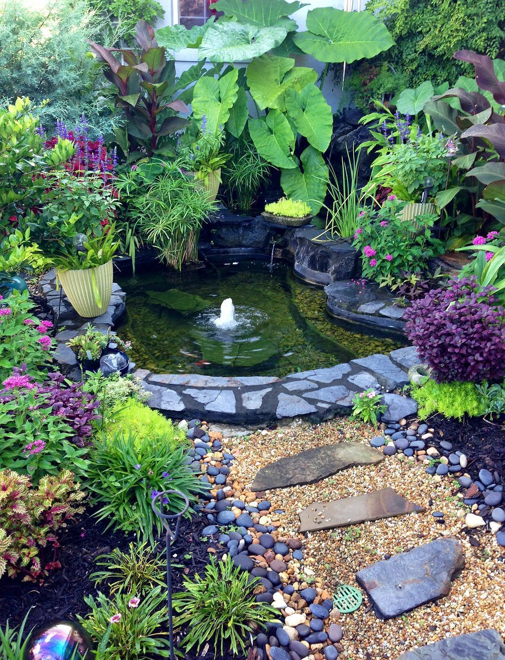 Tiny Backyard Ponds Ideas For Your Small Garden 19 Secret Gardens regarding Small Backyard Pond Ideas