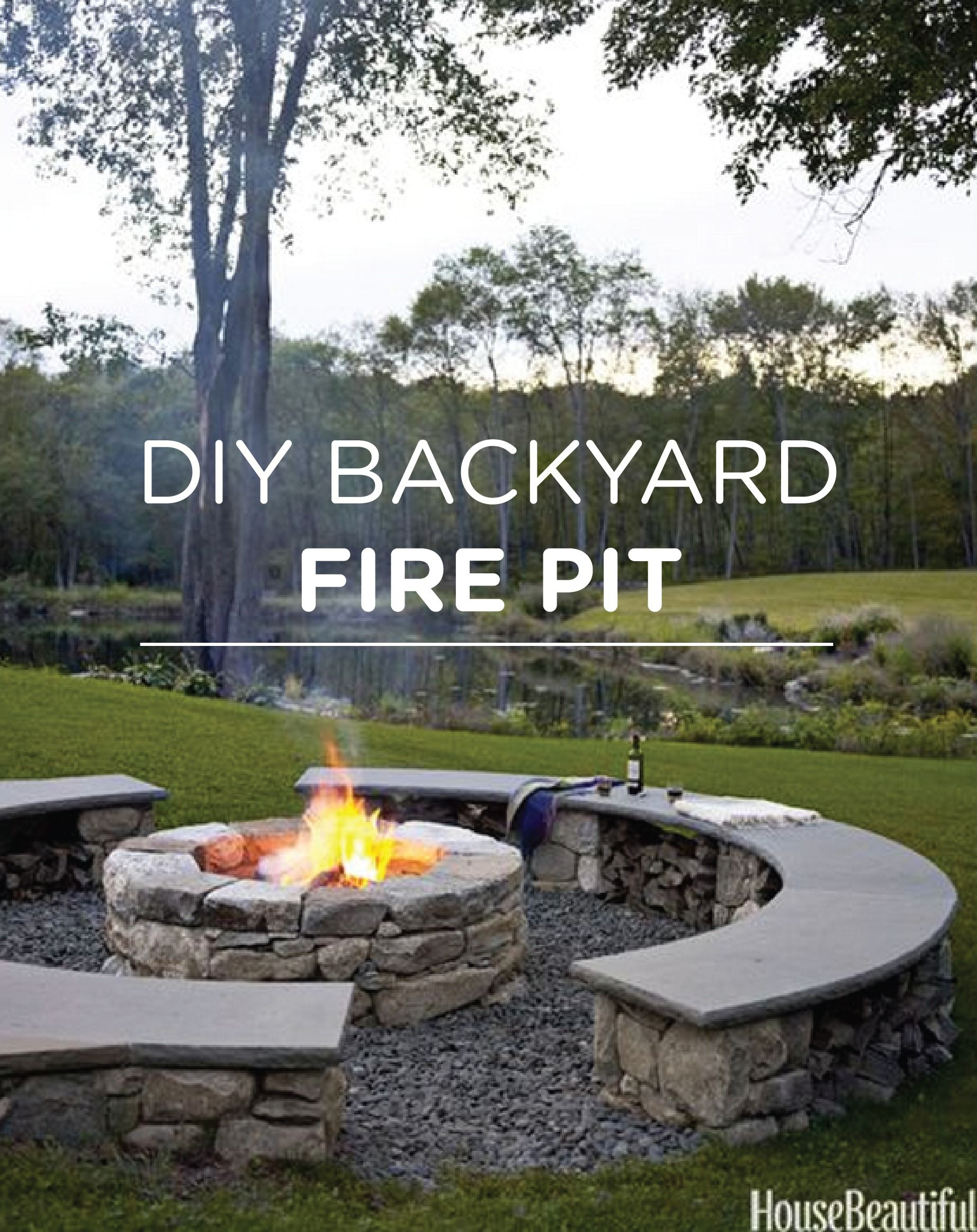 Toast Marshmallows This Spring With Your Own Diy Backyard Fire Pit inside Diy Backyard Fire Pit Ideas