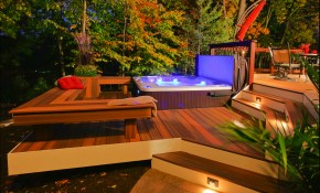 Top 10 Beautiful Backyard Designs Dream Home Jacuzzi Outdoor regarding Backyard Spa Ideas