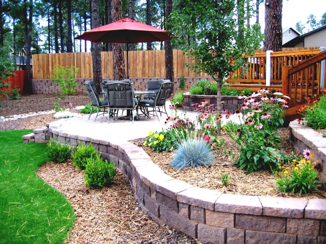 Top 10 Simple Diy Landscaping Ideas Flower Bed Ideas Large throughout 12 Some of the Coolest Tricks of How to Makeover Backyard Patio Landscaping Ideas